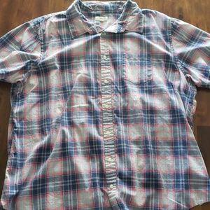 Gently used plaid shirt